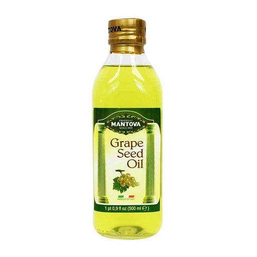 Mantova Grape Seed Oil 17 oz (500 mL)