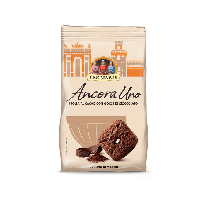 Tre Marie Chocolate Shortbread with Chocolate Drops, 10.6 oz (300 g)