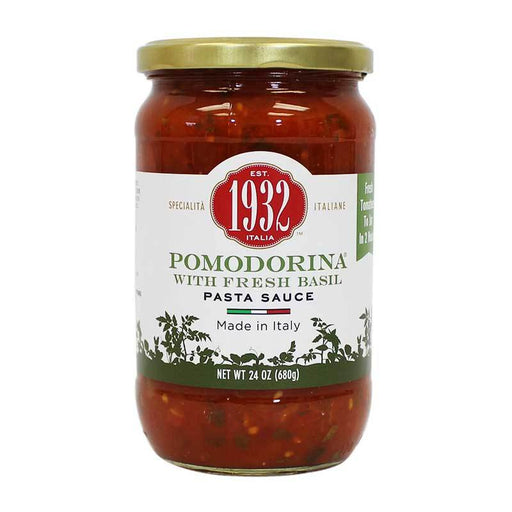 Menu 1932 Pomodorina Pasta Sauce with Basil, 24 oz (680g)