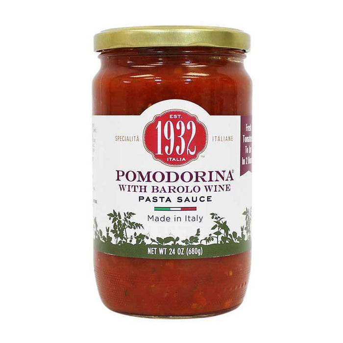 Menu 1932 Pomodorina Pasta Sauce with Barolo Wine, 24 oz (680g)