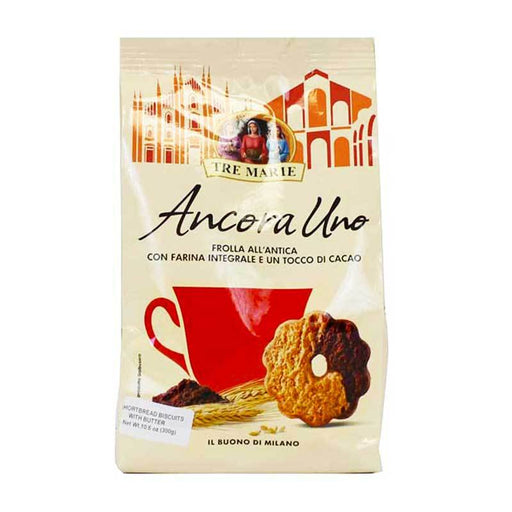 Tre Marie Whole Wheat Shortbread with Chocolate, 10.6 oz (300g)