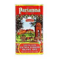 Partanna Extra Virgin Olive Oil, 34-Ounce, 1 Liter Tin, 34 fl oz, 1 LT