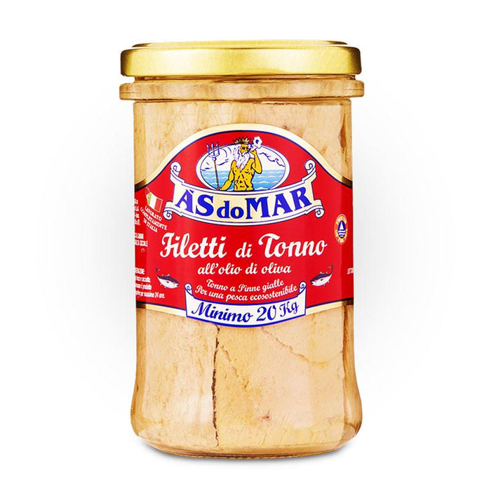 AS do Mar Tuna Fillets in Olive Oil, 8.83 oz (250g)