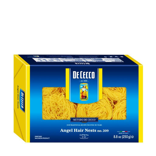De Cecco Angel Hair Nests, 8.8 oz (250g)