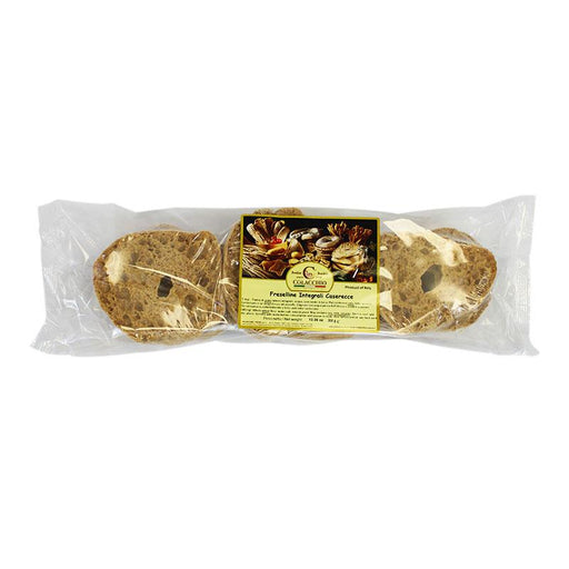 Whole Wheat Friselle Pugliese Rusks Perfect for Bruschetta! 12.35 oz (350 g)