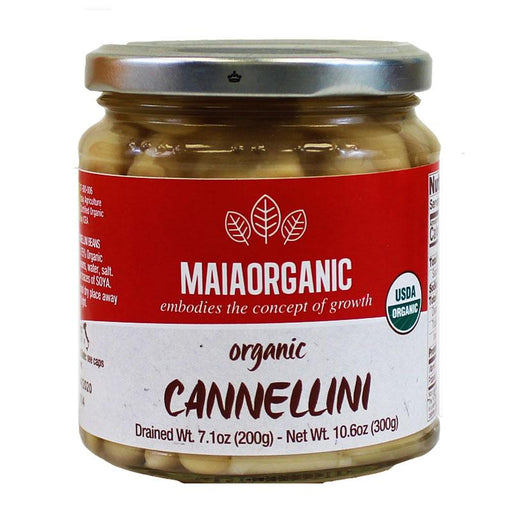 MaiaOrganic Cannellini Beans, 10.6 oz (300g)