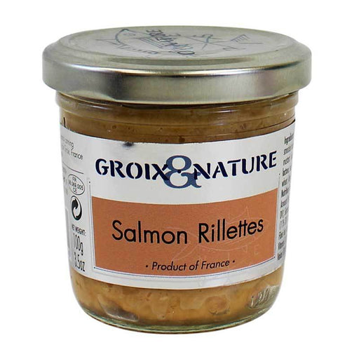 Salmon Rillettes from Groix & Nature, 3.5 oz (100 g)