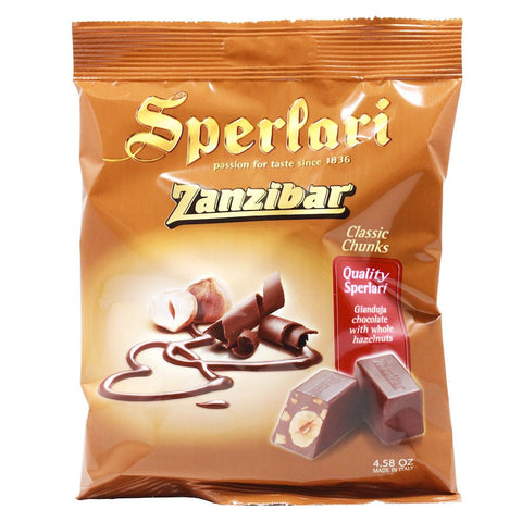 Mini Italian Gianduja Chocolate with Hazelnuts by Sperlari 4.5 oz