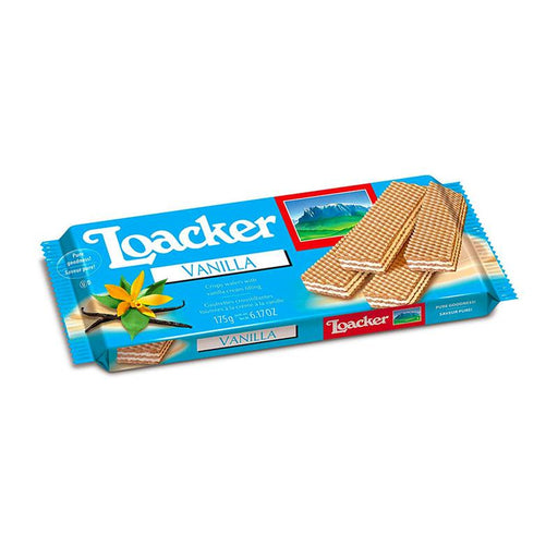 Loacker Vanilla Classic Wafers