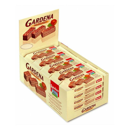 25 Loacker Gardena Hazelnut Wafers