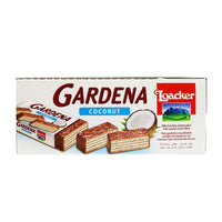 25 Loacker Gardena Coconut Wafers