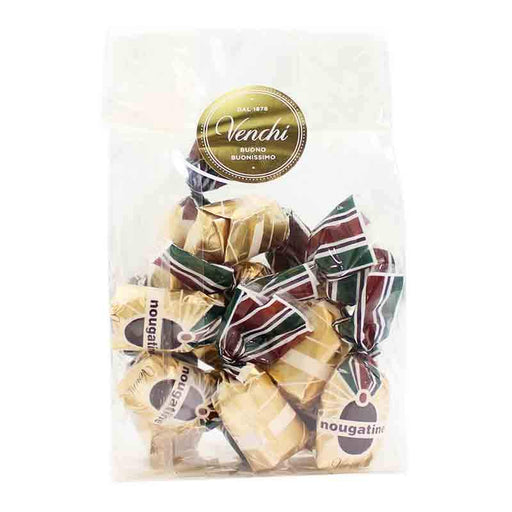 Venchi Nougatine Chocolates in Gift Bag, 10 pc