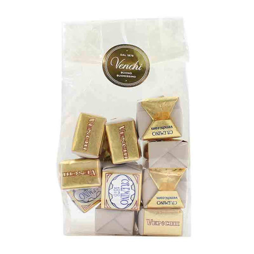 Venchi Cremino Chocolates in Gift Bag, 10 pc