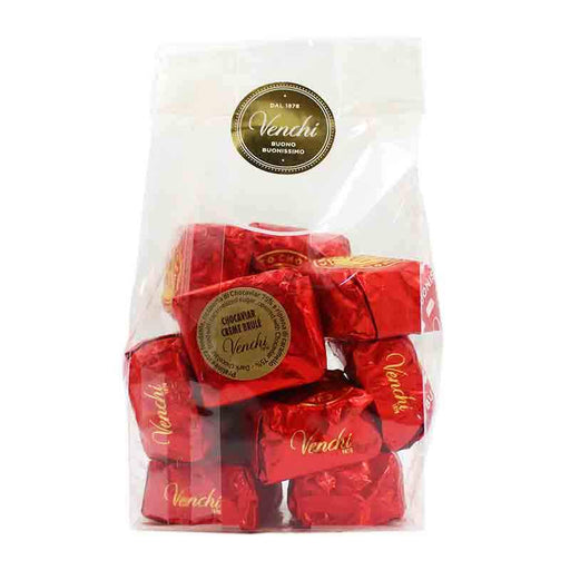 Venchi Chocaviar Creme Brulee Chocolate, 4 pc