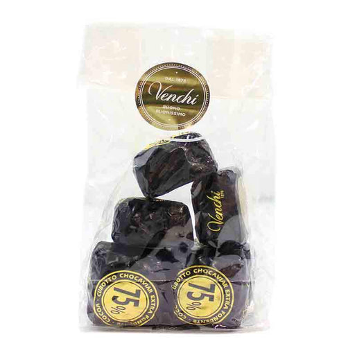 Venchi Dark Chocaviar Chocolate Truffle, 8 pc