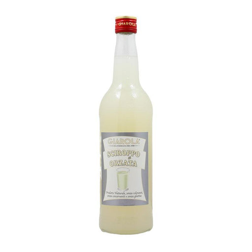 1L Orgeat Syrup from Italy, No Preservatives, No Colorings, Gluten Free, 26 fl oz (1 kg)