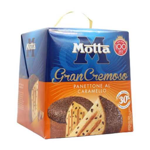 Motta Panettone with Caramel Cream 100th Anniversary Edition, 28 oz (800 g)