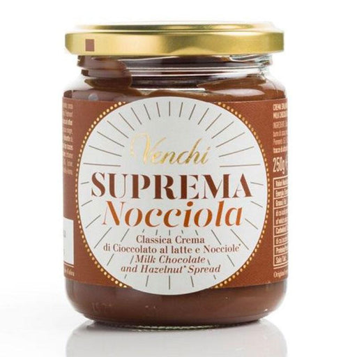 Venchi Suprema Chocolate Hazelnut Spread Nocciola, 8.81 oz. (250 g)
