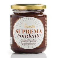 Venchi Suprema Extra Fondente Dark Chocolate Hazelnut Spread, 8.81 oz . (250g)