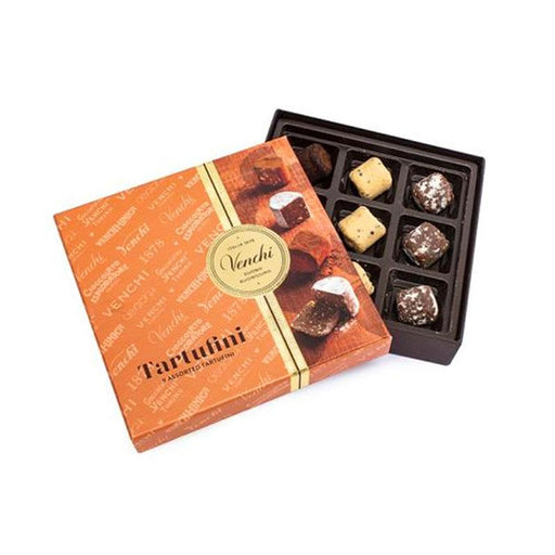 Venchi Assorted Truffles Gift Box, 3.17 oz. (90g)