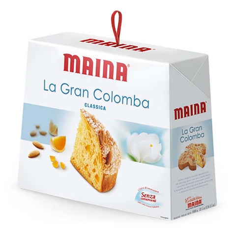 Classic Colomba Panettone Cake by Maina 35 oz (1kg)