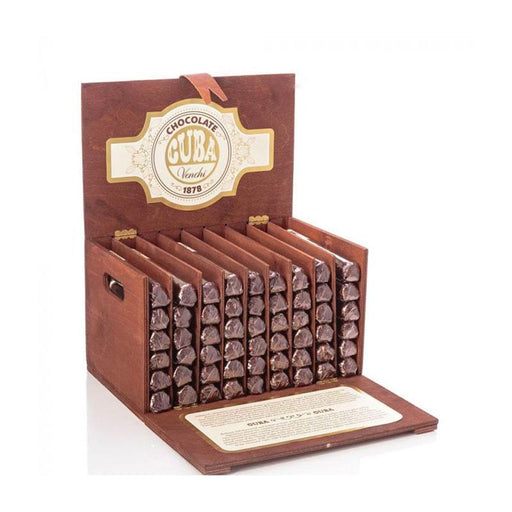 Chocolate Cigars in Luxury Wooden Box by Venchi, 54 Cigars