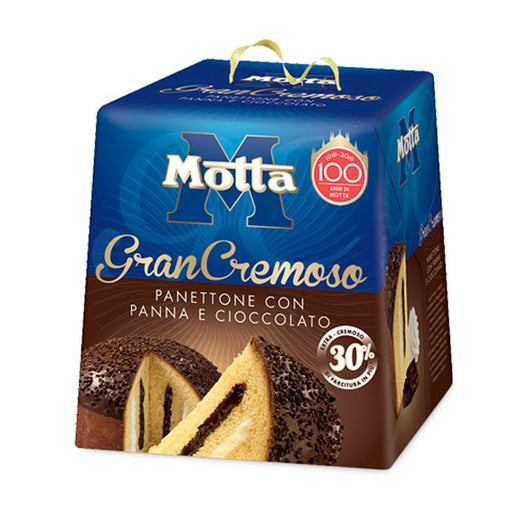 Premium Motta GranCrema Chocolate and Cream Panettone , 28.2 oz. (800g)