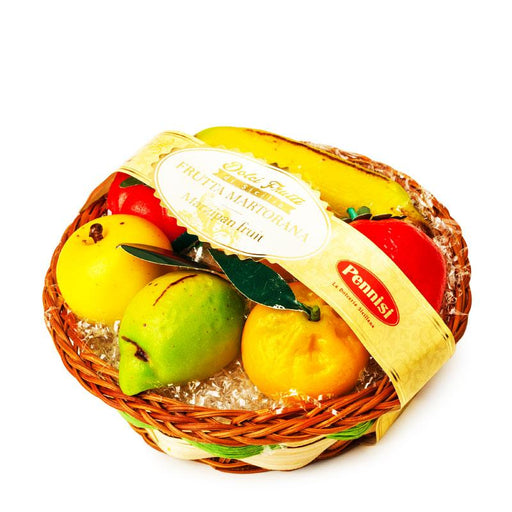Pennisi Marzipan Fruit Basket, 7 oz. (200g)