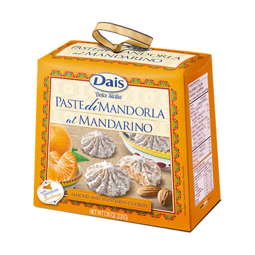 Dais Almond and Mandarin Cookies, 7.76 oz. (220g)