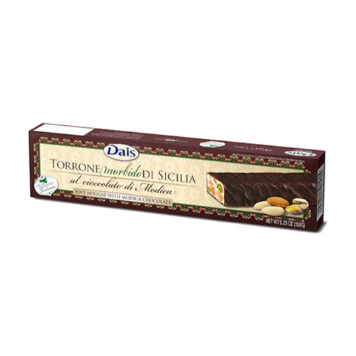 Dais Dark Chocolate Covered Torrone Nougat, 5.29 oz. (150g)