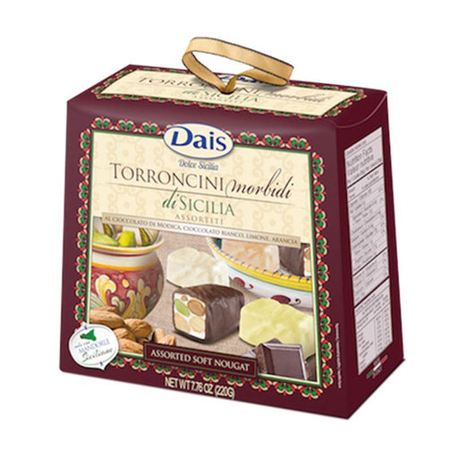 Dais Assorted Soft Nougat Torroncini, 7.76 oz. (220g)