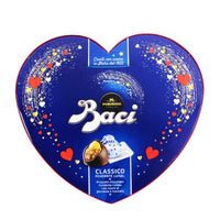 Baci Perugina 51% Dark Chocolate Pralines in Heart Box, 3.5 oz (100g)
