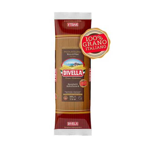 Divella Spaghetti, Whole Grain, 1.1 lb (500.0 g)