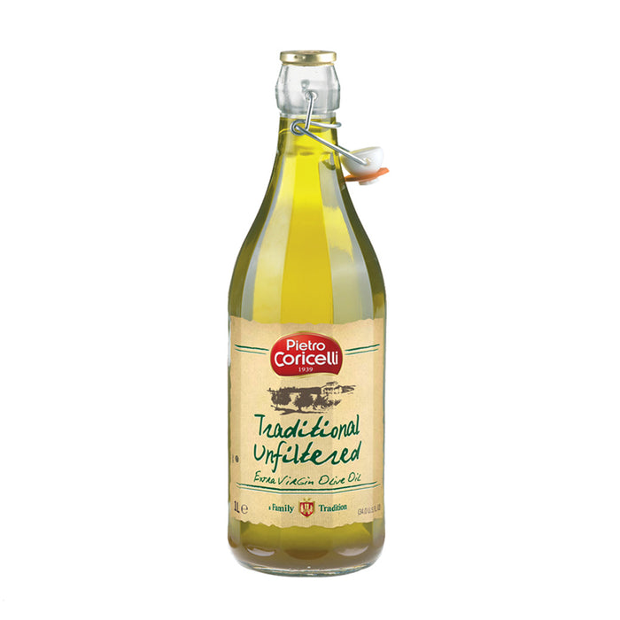 Pietro Coricelli Extra Virgin Olive Oil, Unfiltered, 2.1 lb (958.0 g)