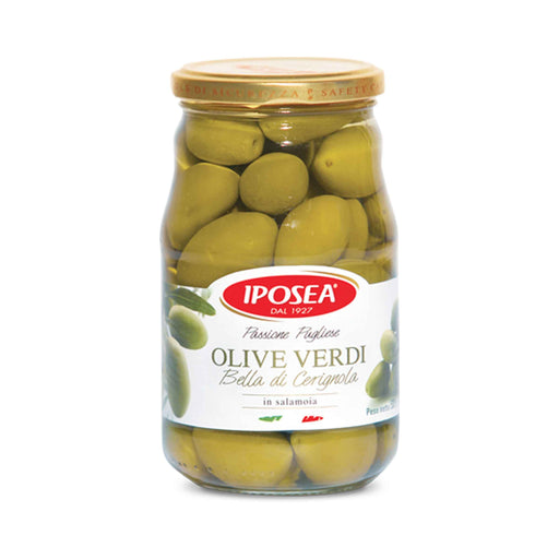 Bella di Carignola Olives from Italy by Iposea, 1.2 lb (530.0 g)