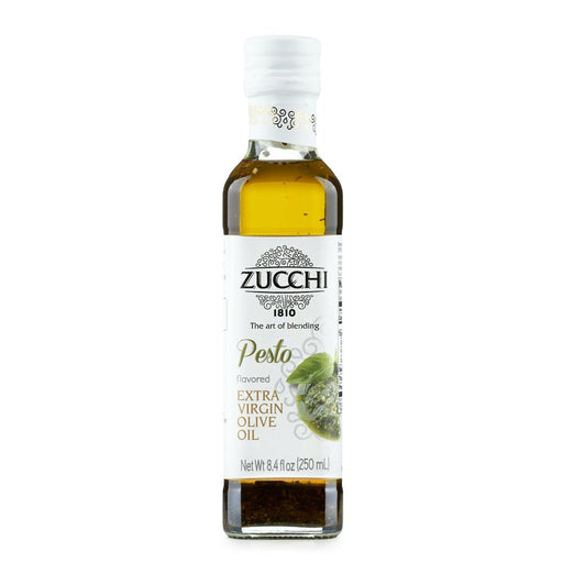 Pesto Flavored Extra Olive Oil by Zucchi, 8.4 fl oz (250 ml)