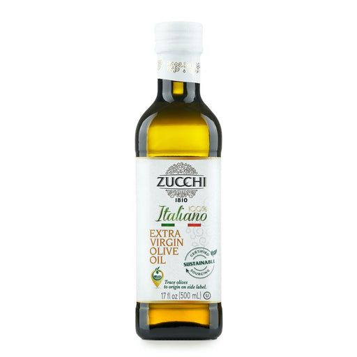 100% Italian Extra Virgin Olive Oil by Zucchi, 17 fl oz (500 ml)
