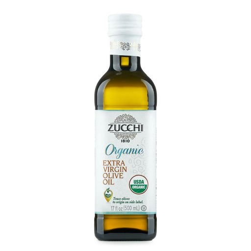 Organic Extra Virgin Olive Oil by Zucchi, 17 fl oz (500 ml)