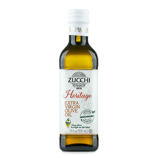 Heritage Extra Virgin Olive Oil by Zucchi, 17 fl oz (500 ml)