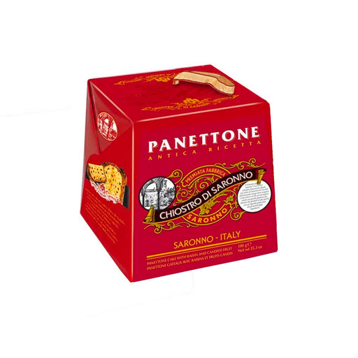 Chiostro di Saronno Mini Panettone with Raisins and Candied Fruits, 3.5 oz (100 g)