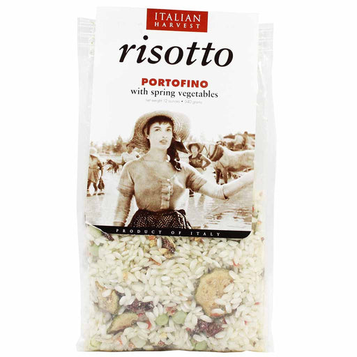 Riso Carena Portofino Risotto Mix with Spring Vegetables 12 oz