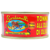 Sardanelli Tuna in Olive Oil by 5.65 oz (160 g)