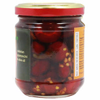 Calabrian Hot Cherry Peppers Pepperoncini in Olive Oil 6.7 oz