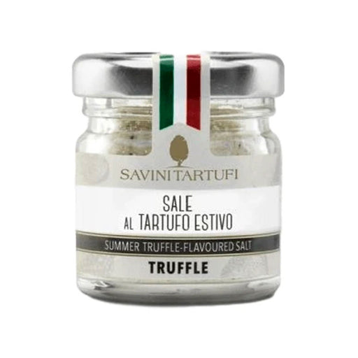 Savini Tartufi Sea Salt with Black Summer Truffle, 3.5 oz (100 g)
