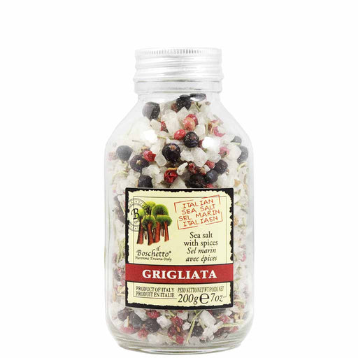 Gourmet Grigliata Sea Salt with Spices by Il Boschetto 7 oz