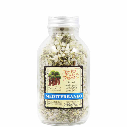 Gourmet Sea Salt with Mediterranean Spices by Il Boschetto7 oz