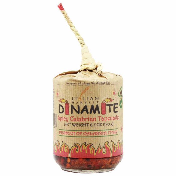 Dinamite Calabrian Hot Pepper Tapenade 6.7 oz