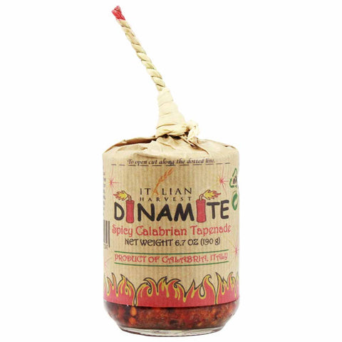 Dinamite Calabrian Hot Pepper Tapenade by Italian Harvest 6.7 oz