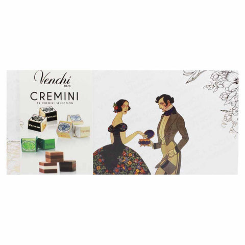 Assorted Cremini Gianduja Chocolates by Venchi 9 oz