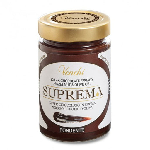 Venchi Extra Dark Chocolate and Hazelnut Spread 10.5 oz
